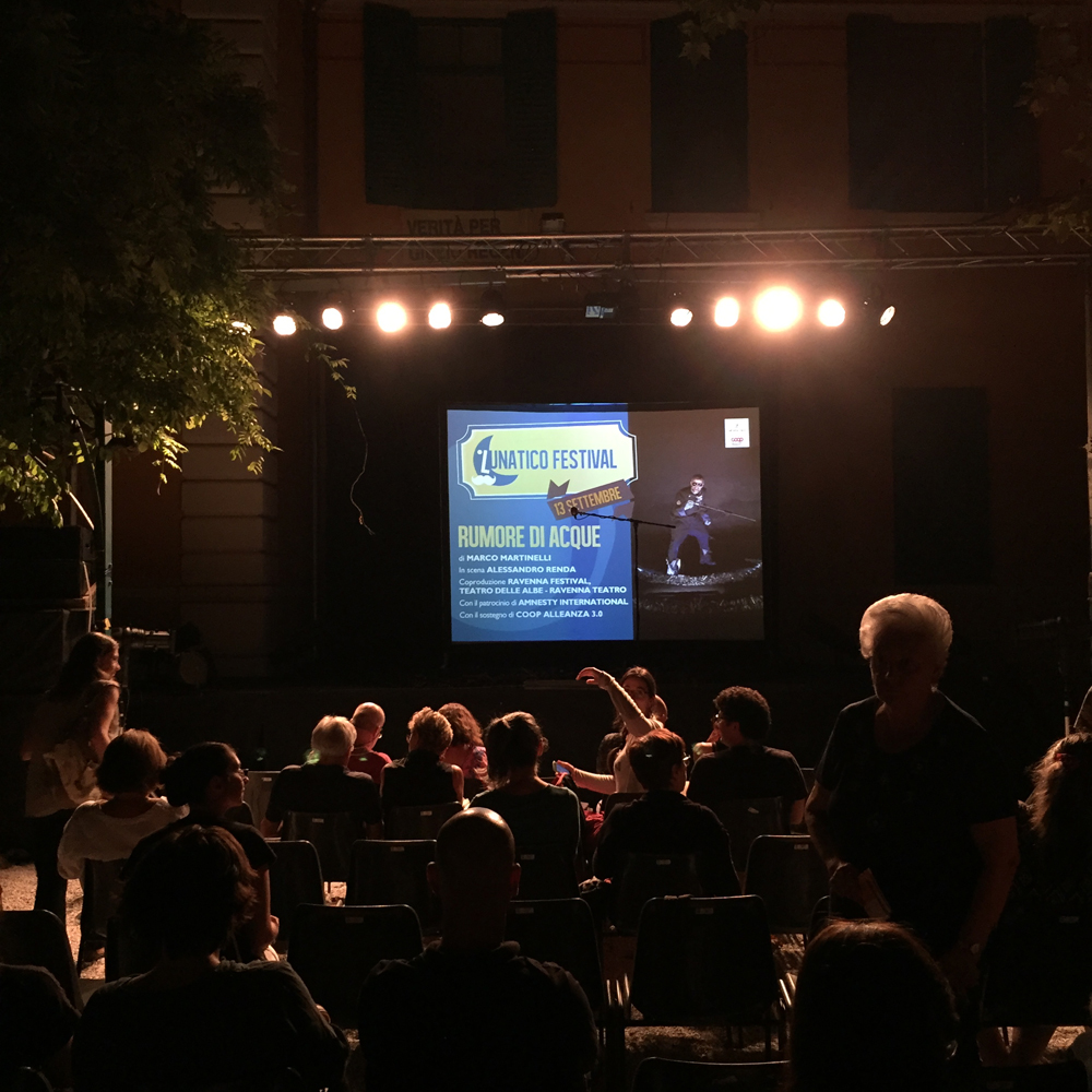 Ad alta voce 2016 - Trieste, anteprima a Lunatico Festival