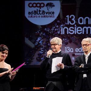 Ad alta voce - Edizioni Precedenti - 2013, Bologna, Cesena, Venezia, Ancona e Ravenna